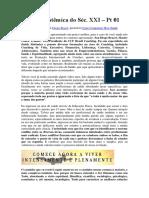 A Saúde Sistêmica Do Séc. XXI – Pt 01