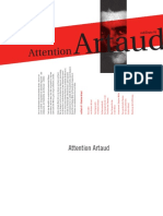 Das Leben Von Antonin Artaud