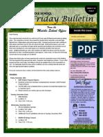 MS Parent Bulletin (Week of November 21 to 25)