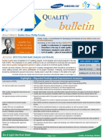 Samsung C&T Quality Bulletin-Issue 31 SEPTEMBER (2016)