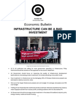 Infrastructure Quality Not Quantity
