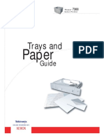 Phaser Section Tray Paper