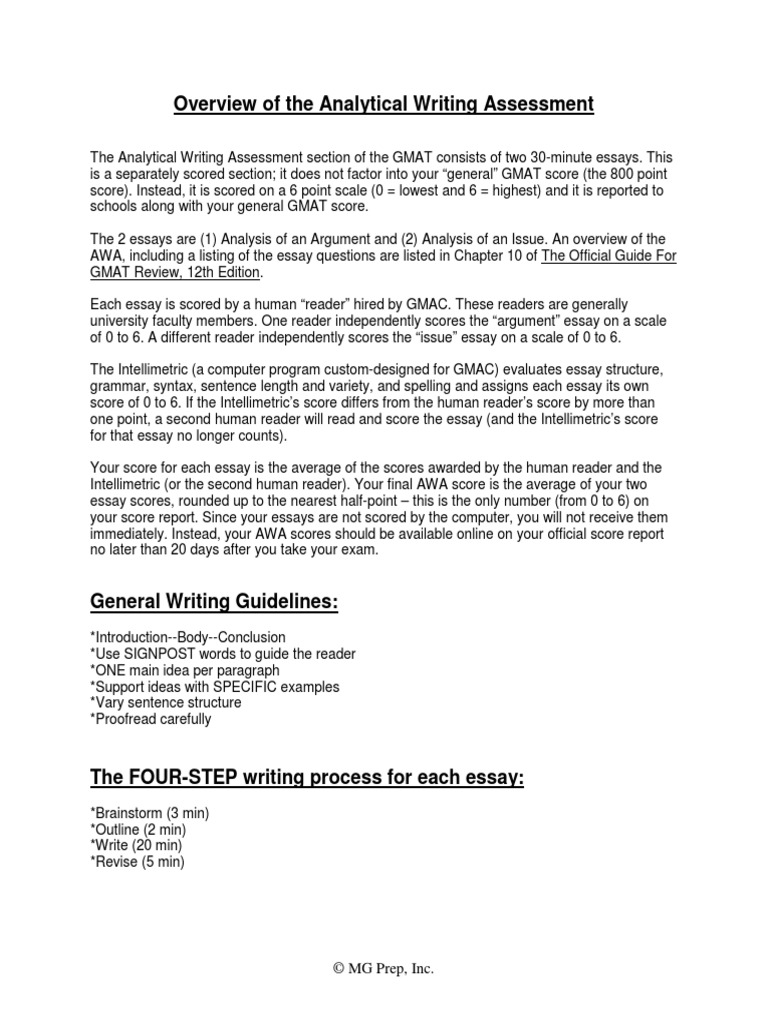 analysis of an argument essay on gmat Gmat cat gmat essay gmat math the second essay which is the analysis of an argument deals with how the student analyses an argument presented to him.