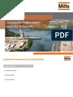 Corporate Presentation 3Q16