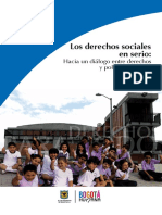 Los Derechos Sociales en Serio Hacia Un Diálogo Entre Derechos y Políticas Públicas