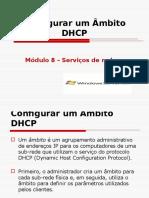 configurar ambito DHCP