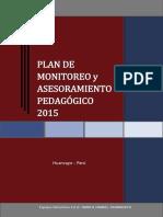 PLAN DE MONITOREO Y ASESORAMIENTO PEDAGÓGICO 2015.pdf