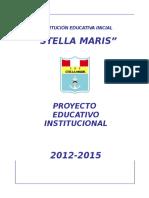 p.e.i - 2012-2015 - i.e.i. Estella Maris - Modelo