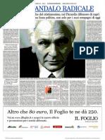 Marco Pannella e gli scandali