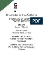 ciencia y Filosofia_ Carlos Agudelo