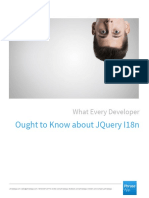 What Every Developer Ought To Know About JQuery I18n