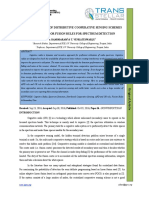7. Implementation of Distributive Cooperative Sensing Schemes