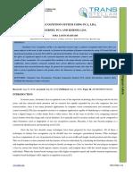 2. Ijcseitr- Face Recognition System Usung Pca , Lda , Kernel Pca and Kernel Lda