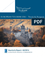 European Tourism 2016 - Trends & Prospects (q3 2016)