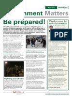 Environment Matters Winter 2015