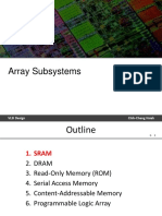 8 Array Subsystems
