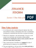 FIN2004 Lecture 3