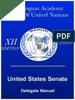 Study Guide - US Senate