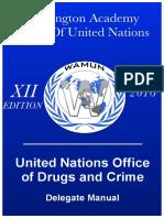 WAMUN Study Guide - UNODC