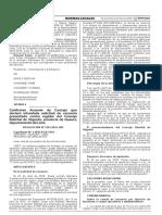 Confirman Acuerdo de Concejo que declaró infundada solicitud de vacancia presentada contra regidor del Concejo Distrital de Végueta provincia de Huaura departamento de Lima
