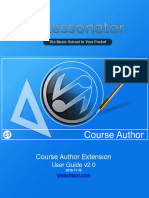 Lessonator Course Author