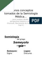 3. Conceptos en Semiologia
