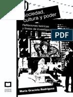 Rodriguez - Sociedad Cultura Poder