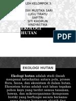 EKOLOGI HUTAN