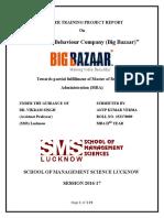 Consumer Behaviour Company (Big Bazaar) Anup Kumar Verma