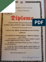 Diploma Ordem Merito concedido a Artur Victoria