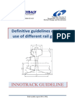 Definitive Guidelines on the Use of Different Rail Grades XINNOTRACK Deliverable Report D4. 1.5GLx