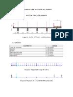 Analisis de Una Secccion Del Puente