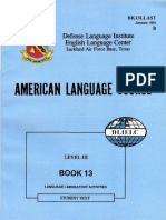 Book 13 Language Laboratory Activities