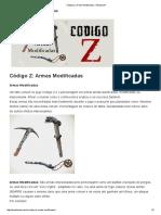 Código Z_ Armas Modificadas « Moostache