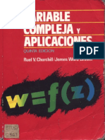 R. v. Churchill, James W. Brown-Variable Compleja y Aplicaciones-McGraw- Hill (1992)