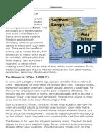 Early Greece WS - Minoans and Mycenaens.docx
