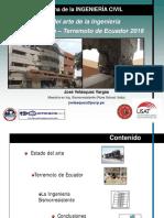 Estado Del Arte y Terremoto de Ecuador 2016