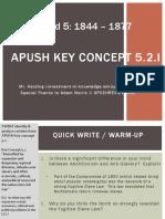 APUSH - Concept - 5.2.I - 2016 - Harding