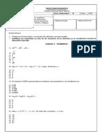Simce Matemática 2ndo Medio de APLICACION