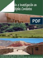 Educacion e Investigacion en Multiples Contextos