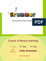 Jolly Grammar Presentation
