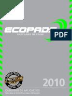 Catálogo de Pastilhas Ecopad