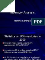 Inventory Analysis 2016