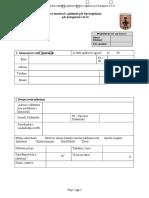 Shtojca Nr.4 - Formulari Standard Për Aplikim Për Leje Legalizimi_Kategoria II