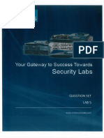 CCIE Security v4 Lab 5 Question - 3rd Release - 05-10-2014
