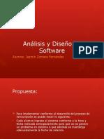 Análisis y Diseño de SoftwareJazmínZF.pptx