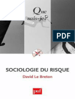 Sociologie Du Risque - Le Breton David