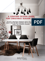 Lighting Design Guide for Christmas Season