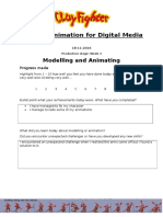 animation production evaluation form week 3