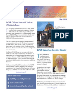 May 2008 Leadership Conference of Women Religious Newsletter